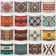 Hot sale fashion  geometric shape wall hanging tapestry home decoration tapiz pared L 200*150cm M 150*130cm