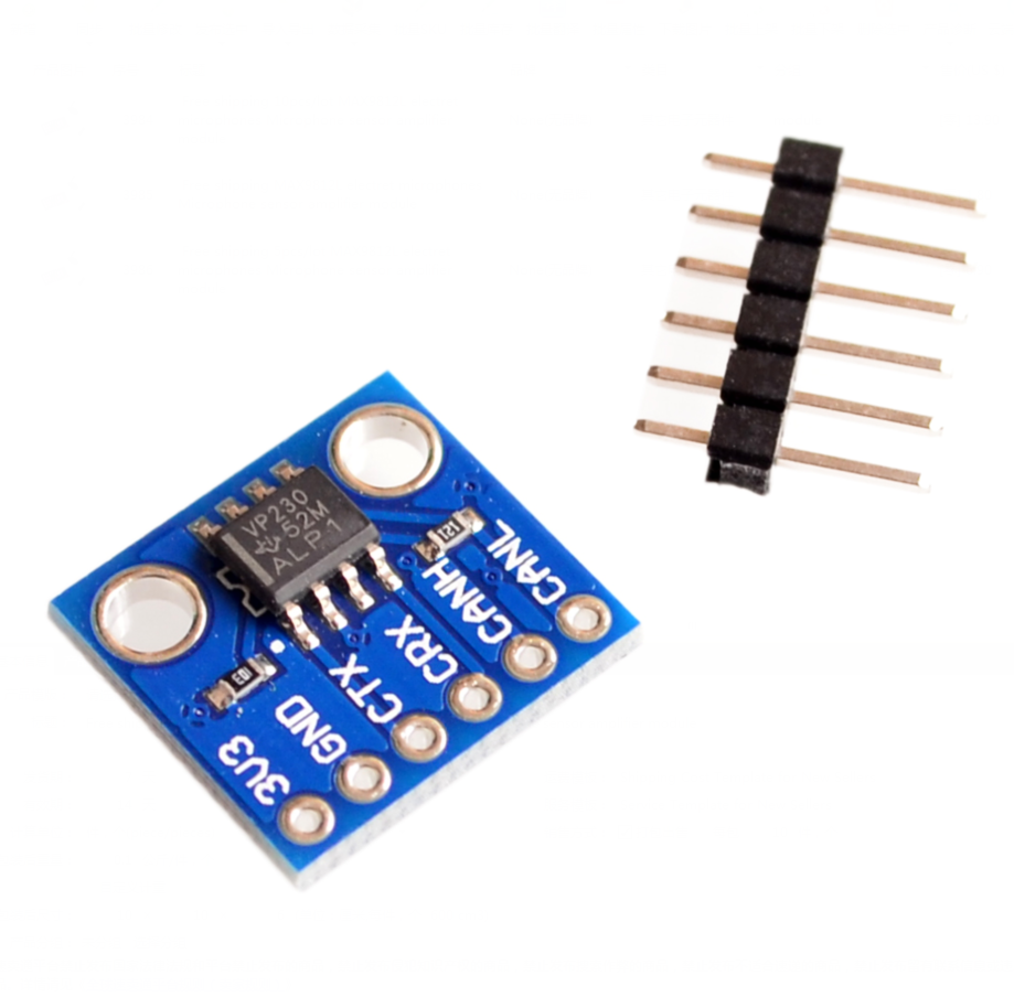 2PCS SN65HVD230 CAN bus transceiver communication module For Arduino TOP