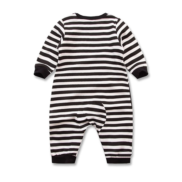 2019 Spring Autumn Baby Girl Brand Clothing Cotton Romper Clothes Children's Cartoon Penguin Baby Animal Girl Jumpsuit Romper 3