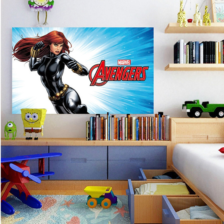 Latest 14 Different 60*100cm 3D Cartoon Super Hero Marvel Avengers Thor  Wall Sticker Home Decor For Kids Room Decal Poster Mural In Wall Stickers  From Home ...