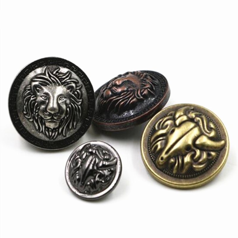 Coat Pant Decorative Buckle Preventing Hairs From Graying And Helpful To Retain Complexion Purposeful 10pcs/lot Sewing Accessories High-grade Zinc Alloy Metal Buttons Used For Jean Jacket