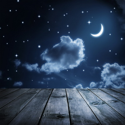Huayi Fabric Backdrops For Photography Background Moon