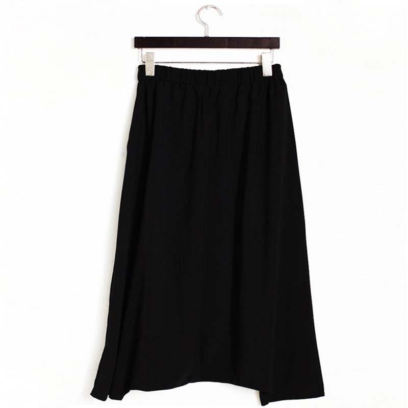 Musim Semi Musim Gugur Wanita Celana Lebar Kaki Mode Longgar Padat - Pakaian Wanita - Foto 3