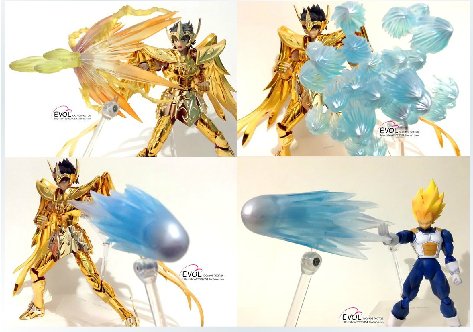 US $45 82 |Saint Seiya Cloth Myth Model ex special effects accessories for  Sagittarius Aiolos / Pegasus-in Action & Toy Figures from Toys & Hobbies on