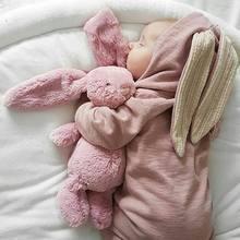 26285c9a70bb Winter Rompers Warm Rabbit Ear Baby Romper Fleece Jumpsuit Snow Wear  Snowsuit Cute Infant Clothing Newborn