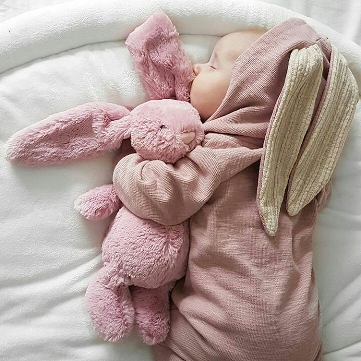Winter   Rompers   Warm Rabbit Ear Baby   Romper   Fleece Jumpsuit Snow Wear Snowsuit Cute Infant Clothing Newborn Boys Grisl Clothes