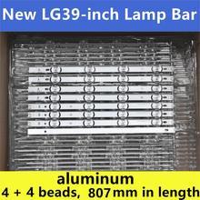 """8PCS (4A+4B) LED Backlight strip For 390HVJ01 lnnotek drt 3.0 39"""" 39LB5700 39LB650V 39LB5800 39LB561F NC390DUN VXBP2 V390HJ4 PE1"""