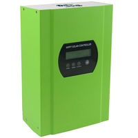 SMART 50A Mppt Solar Charge Controller With LED Display 150VDC PV Input 12V 24V 48V Auto