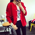 Hot sale!2016 new Fashion brand long-sleeved sweater coat female casual long-sleeved cardigan sweater coat jacket for female