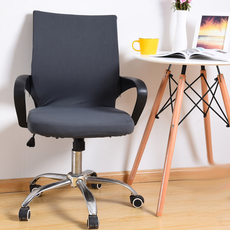 1PC Elastic Office Chair Cover Slipcover Armrest Stool Swivel Chair Seat  Cover MYDING In Chair Cover From Home U0026 Garden On Aliexpress.com | Alibaba  Group