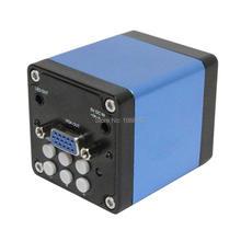 Envío Gratis Full HD 30FPS Cámara Industrial Microscopio Digital de 2.0MP Salidas VGA