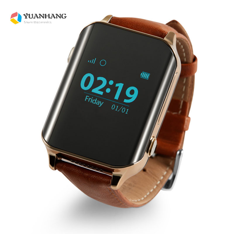 A16 GPS Tracking Watch Elder Waterproof Fitness Tracker Smartwatch SOS Call Location Finder Anti lost Band