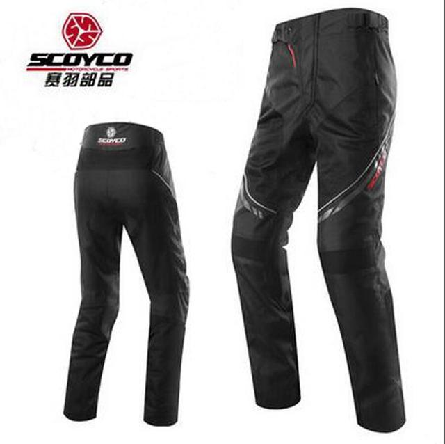 7f98a371413 Scoyco P027-2 Motorcycle riding Pants Racing Trousers Mesh Breathable Wears  knight Riding pants Men with CE Kneepad