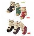 For 7-24 months baby socks kids cotton socks children antiskid comfortable sock infant boy girl shoes style socks free size