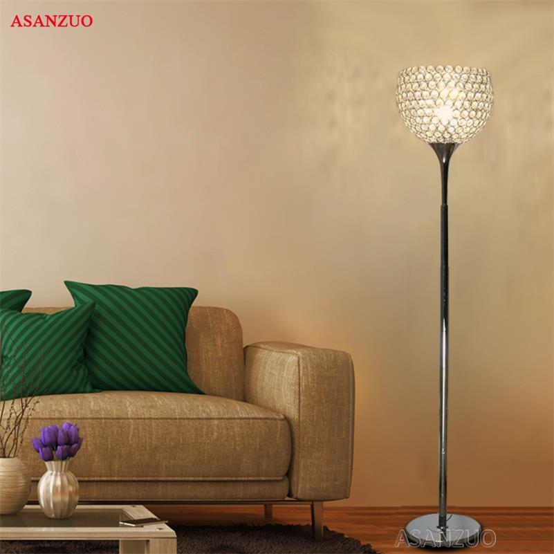 Crystal Floor Lamp Modern Crystal Floor Lights Living Room