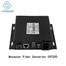 Nova estrela CVT320 full color display LED LEVOU parede conversor de fibra conversor de sinal de transmissão de longa distância nova