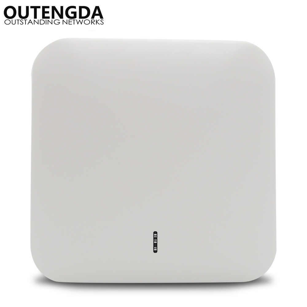 1200Mbps 802.11ac High Power 2.4G&5.8G Ceiling Wireless Access Point WiFi Extender Active PoE Ceiling-mounted Wireless AP Router
