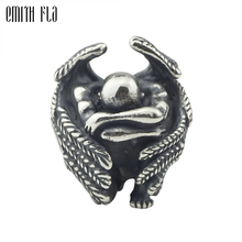 Male Angel 925 Silver Metal Beads Fit For European Charm Bracelet Jewelry Making DIY Jewelry Findings Handmade Bead Charms