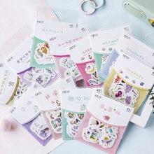45pcs/pack Cute Little Fairy Series Japanese Sticker Decorative Scrapbooking Stickers Diary Album DIY Decor Kids Gift