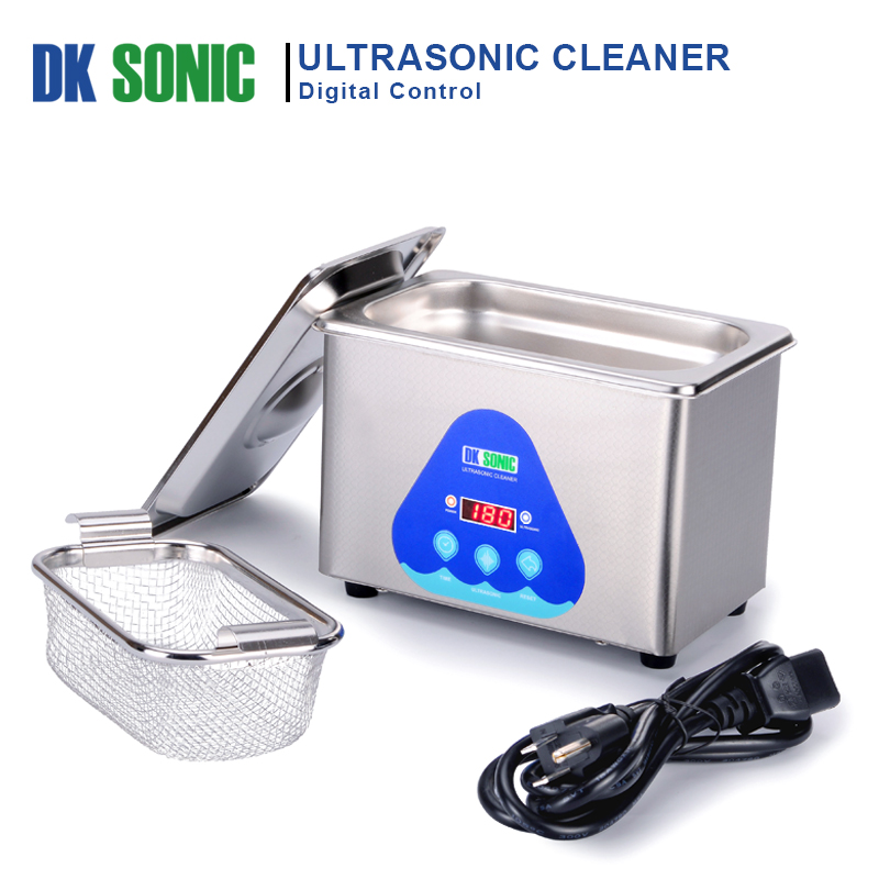 Image 2 - DK SONIC Digital 800ml Ultrasonic Cleaner 35W 42KHz Household Ultrasound Bath for Jewelry Watch Chains Eyeglasses Coins Dental-in Ultrasonic Cleaners from Home Appliances