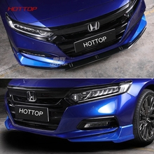 HOTTOP 4Pcs set Car Front Fog Light font b Lamp b font Eyebrow Eyelid Strips Trim