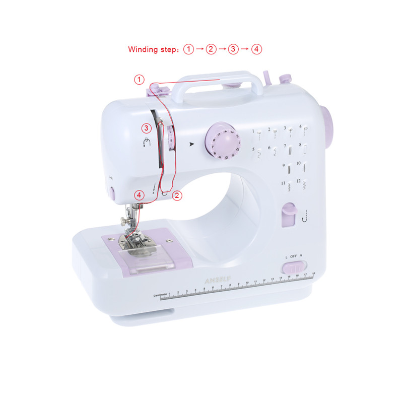Image 5 - Fanghua sewing machine 505a home multi function electric eating  thick sewing machine US European standardSewing Machines   -