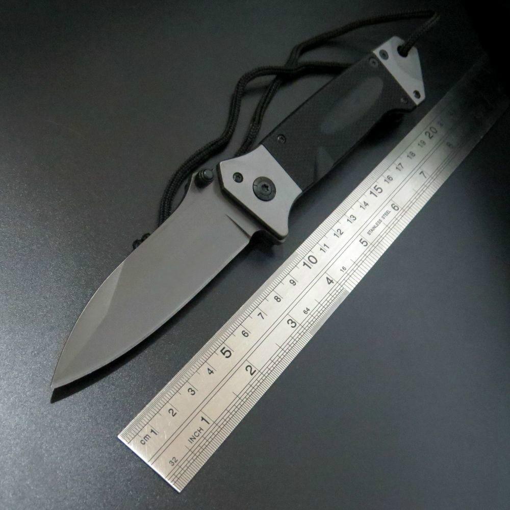 Vente chaude DA35 Pliant Tactique Outil de Survie Couteau de Camping En Plein Air Outil Couteaux Lame En Acier G10 Poignée Couteau EDC Outil