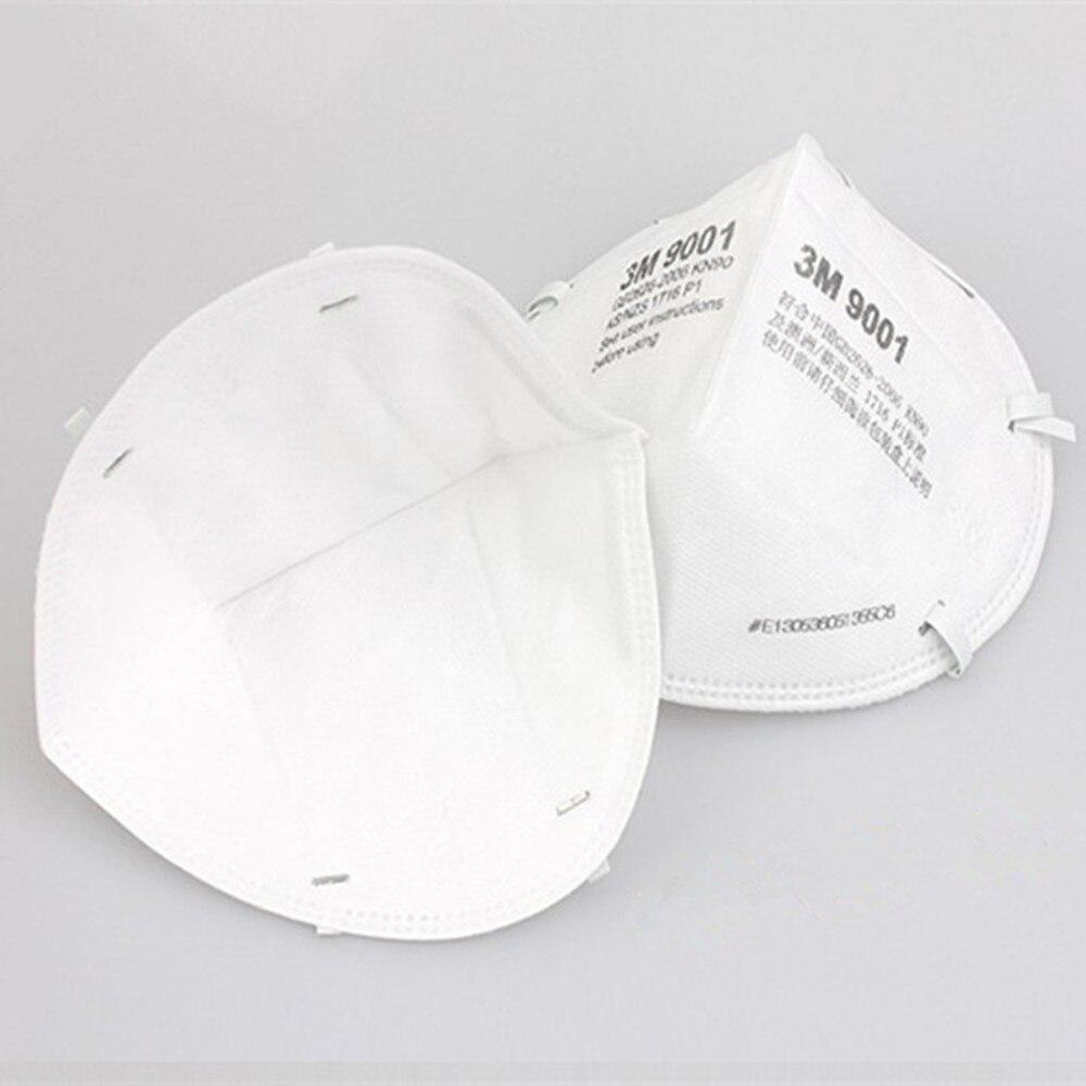 30Pcs 3M 9001 KN90 Dust Masks Respirator Anti-dust PM2.5 Industrial Construction Pollen Haze Gas Family & Pro Site Protection