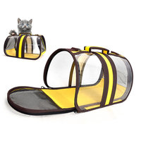 Backpack Cat Bag Pack For Small Dogs Mochila Gatos Transport Bag For Cats Portable Mesh Breathable Puppy Outdoor Trave Carrying