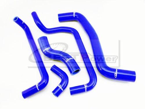 طقم خرطوم المشع من السيليكون لـ 95 00 TOYOTA COROLLA LEVIN AE111/AE101G 4A GE أزرق/أحمر/أسود