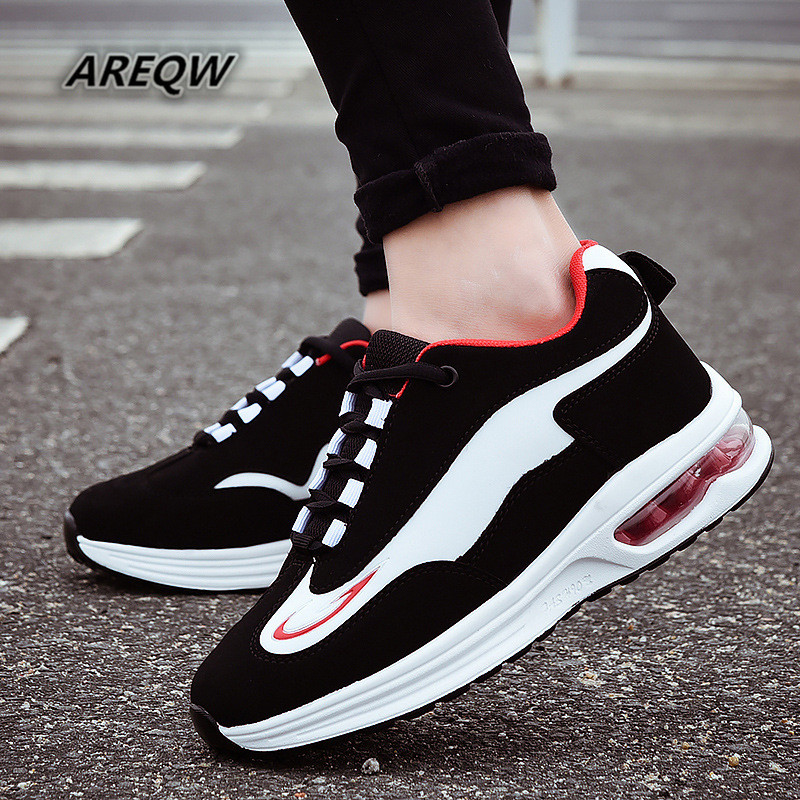 Men's Shoes Comfortable Korean-Version Autumn Fashion And of Help Spring Low-Heel Wild