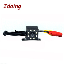 Idoing HD CCD Автомобильная камера заднего вида 8 IR Реверсивные огни Автомобильная резервная камера заднего вида для Android 4,4/5,1/6,0/7,1