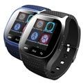 Original bluetooth smart watch m26 relógio barómetro alitmeter pedômetro música para android ios telefone pk u8 smartwatch dz09 u80 w8