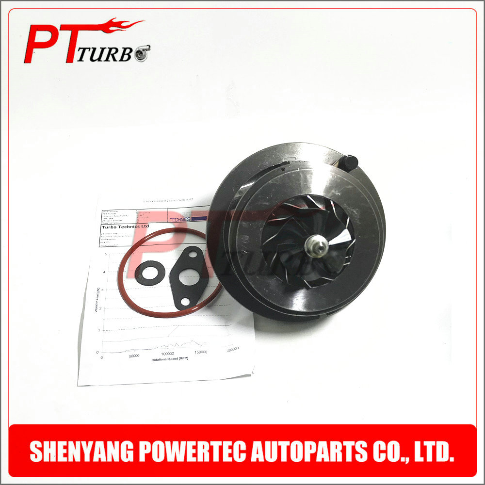 Turbocharger core CHRA 49377 07511 for Volkswagen Crafter TD 2.5TD 100 Kw 120Kw BJL R5 LT3 Euro5 cartridge turbine 49377 07510