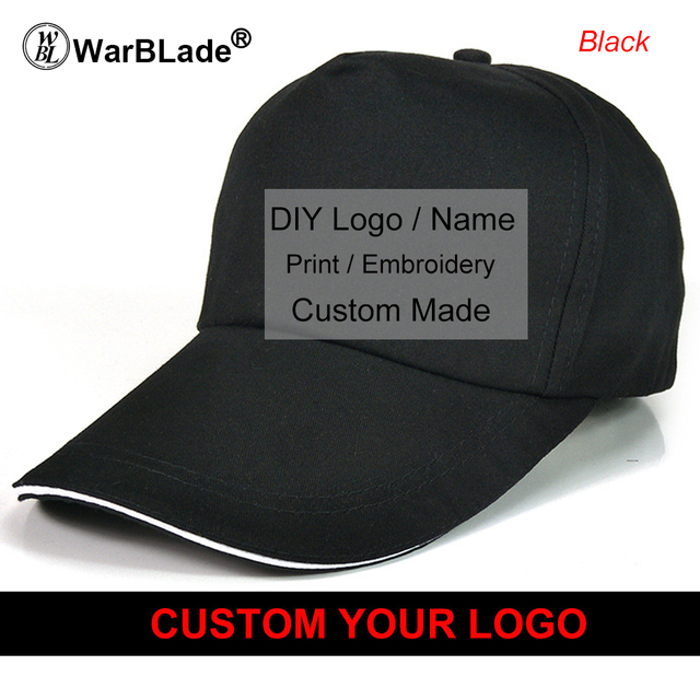 Custom Baseball Cap Top Quality Dad Caps Personalized LOGO Embroidery Hat 6  Colors Adjustable Adult Gorras 9cfac766f3ac