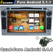 For Opel Astra 2004-2009 Antara 2006-2011 Corsa 2006-2011 Pure Android 5.1.1 Car DVD With Rear View Camera GPS Bluetooth Radio