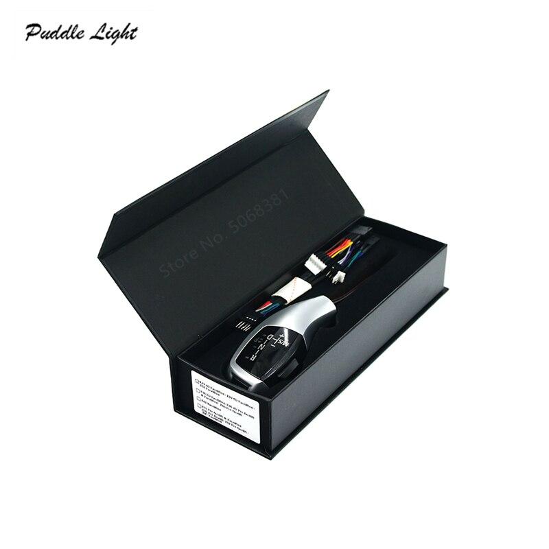 LED Pommeau de levier De Vitesses manette de vitesse levier Pour BMW E39 E46 E53 E60 E61 E81 E82 E87 E88 E90 E92 E93 LHD MODIFICATION Automatique Accessoires