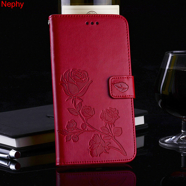 best service 6e409 23031 US $3.56 10% OFF|Nephy Luxury Flip Case For Xiaomi Redmi S2 3S 4A 4X 5 5A 5  Plus 3D Rose Flower Soft Shockproof Leather Full Cover Casing Holder-in ...