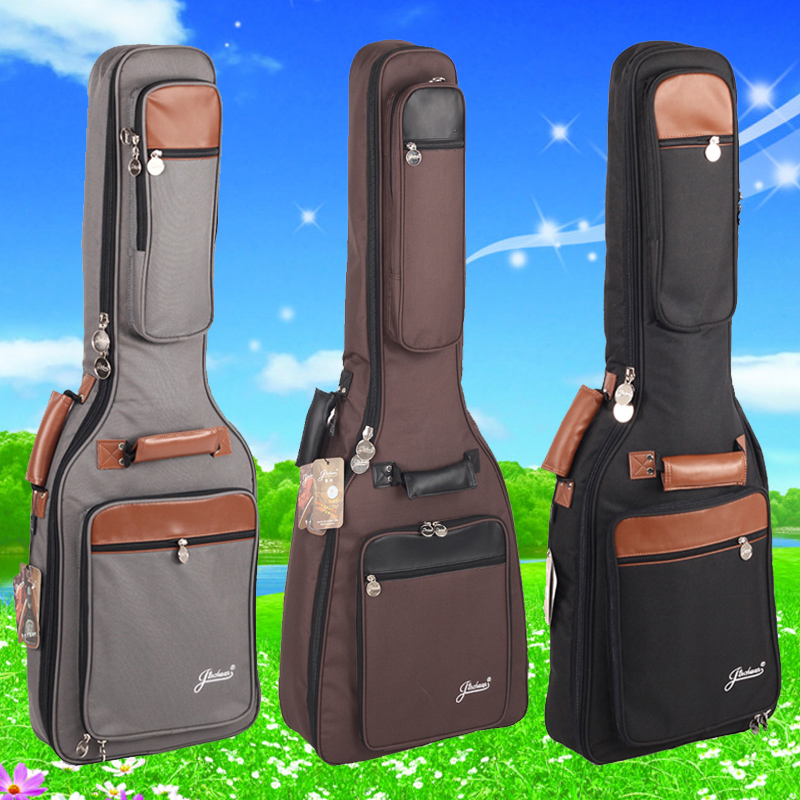 good quality thick general electric guitar bag acoustic package shockproof waterproof case packs bags backpack free shipping good quality hofner mini electric guitar travel guitar free bag free shipping