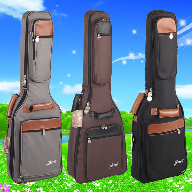 good quality thick general electric guitar bag acoustic package shockproof waterproof  case packs bags backpack free shipping
