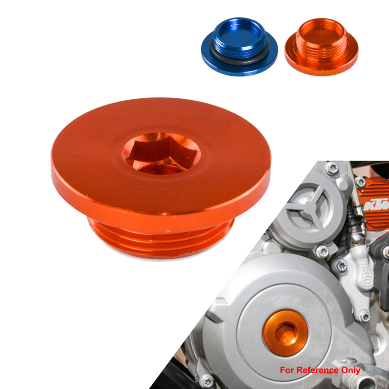 H2CNC M24 Ignition Cover Plug Screw Nut For KTM 1190 Adventure ADV R 12 15 RC8 08 13 1290 SUPER DUKE 14 15 690 SM SMC ENDURO ETC in Covers Ornamental Mouldings from Automobiles Motorcycles