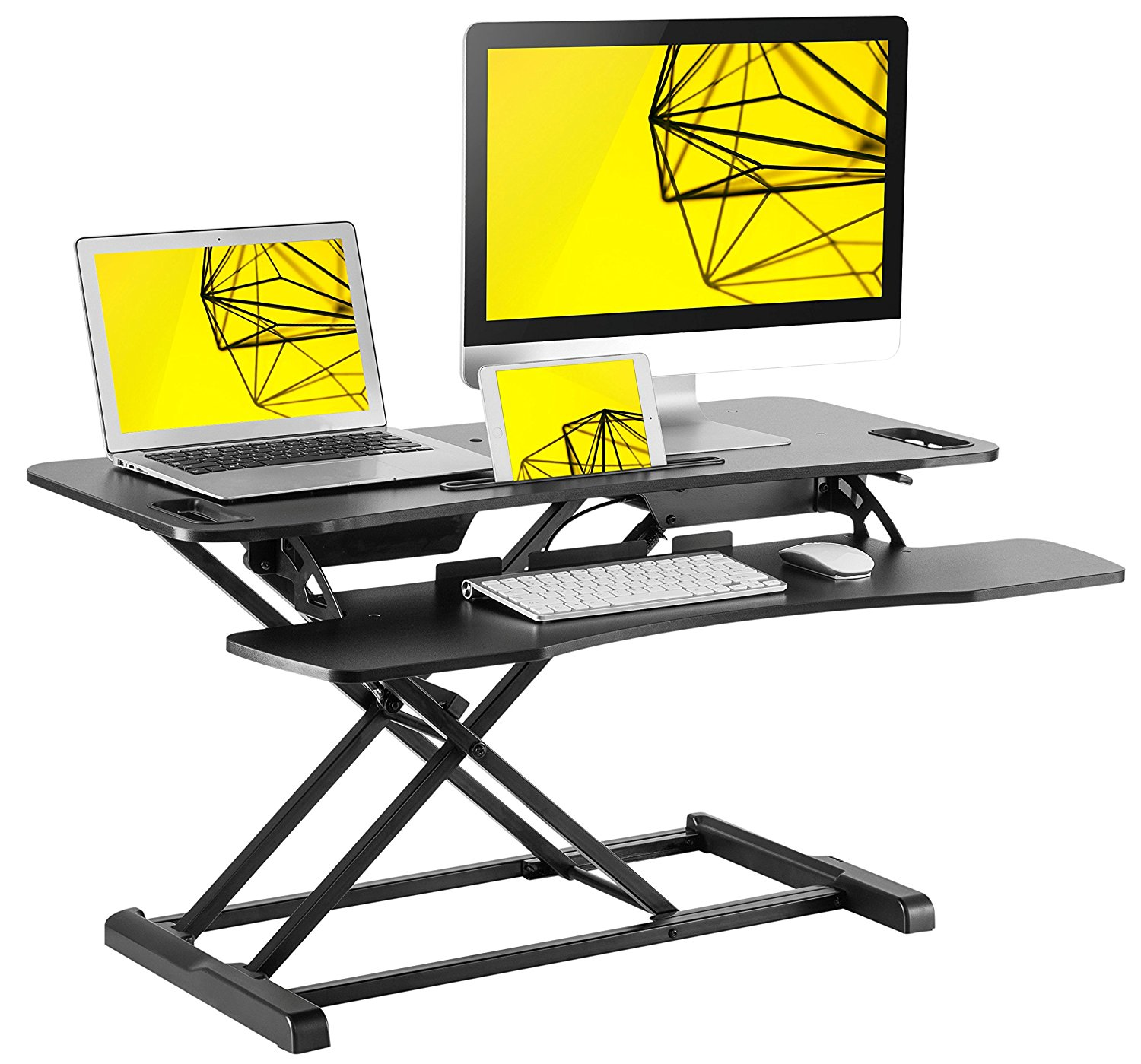 Standing Desk Height Adjustable Sit Stand up Desk converter
