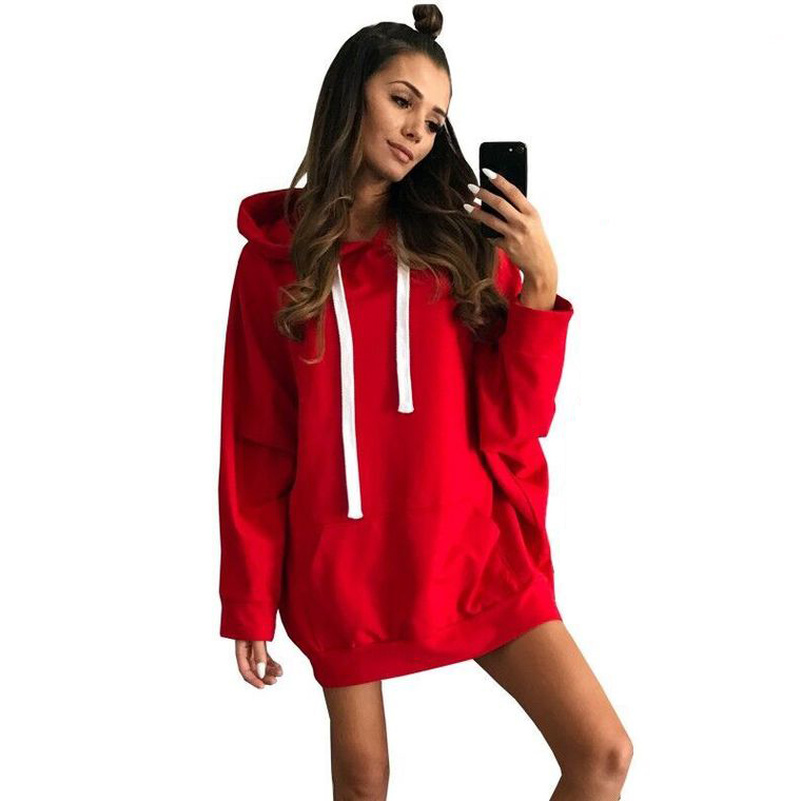 3 Color 3 Sizes Hoodies Sweatshirts Sporting Cotton Female Loose Oversized Pullovers Harajuku Hooded Tracksuit Sportwear Clothes