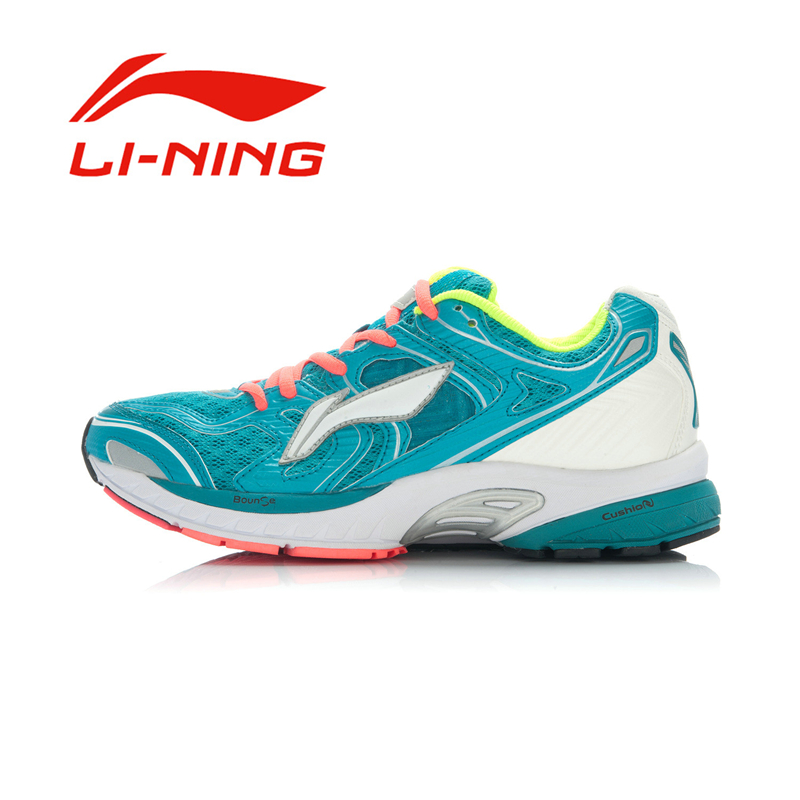 Li-Ning Men's Prevent Sideslip Running Shoes Li Ning Outdoor PU+Fabric Breathable Wearproof Sports Sneakers ARGJ001 original li ning men professional basketball shoes