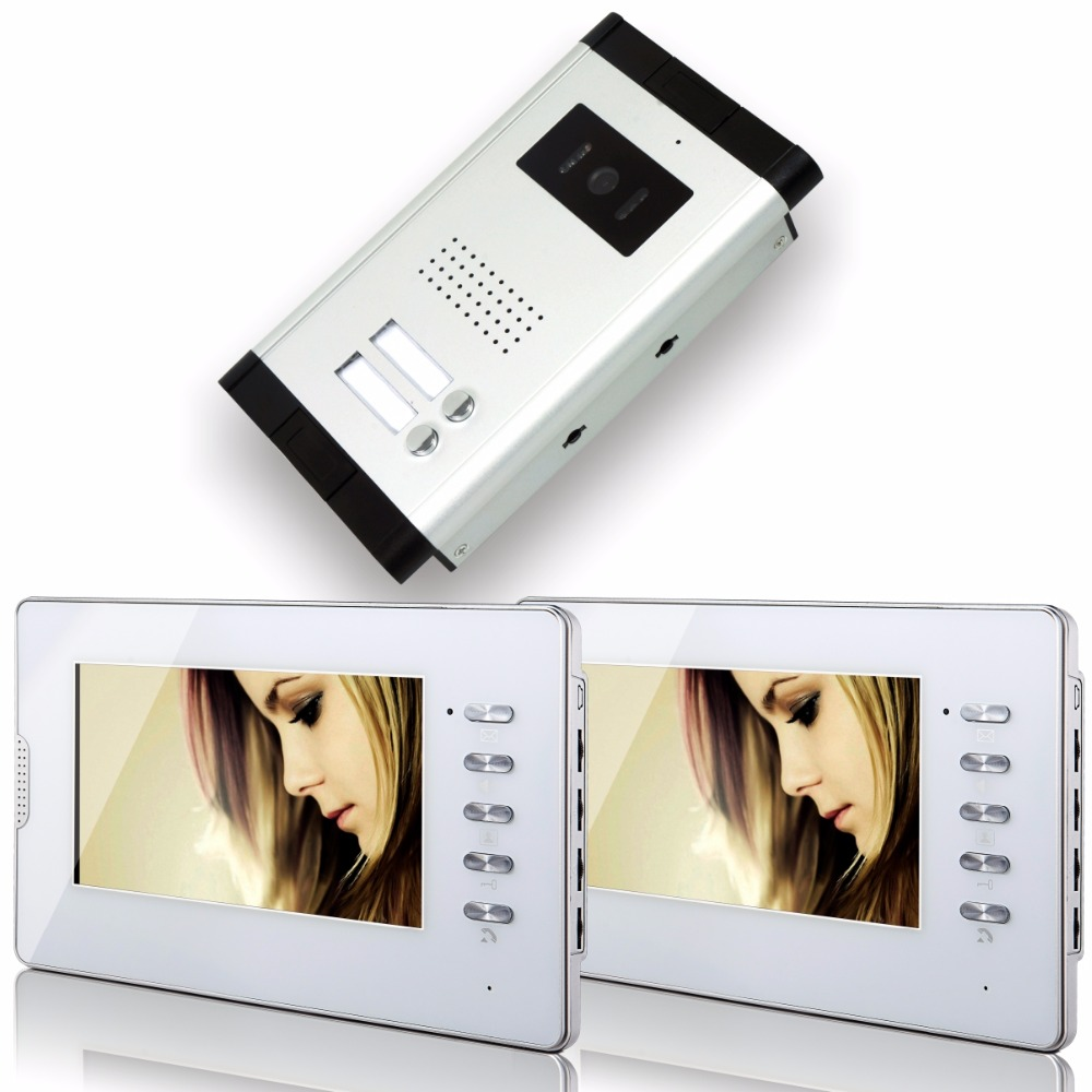 7 Inch 1V2 TFT Monitor For Wired Intercom Video Door Phone