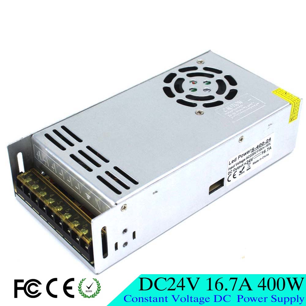 High quality small size 400w 16 7a 24v dc power supply for Power supply for 24v dc motor