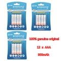 12 Pcs/3 Pack enelong 1.2 V AAA NIMH Bateria Recarregável de 900 mAh de capacidade