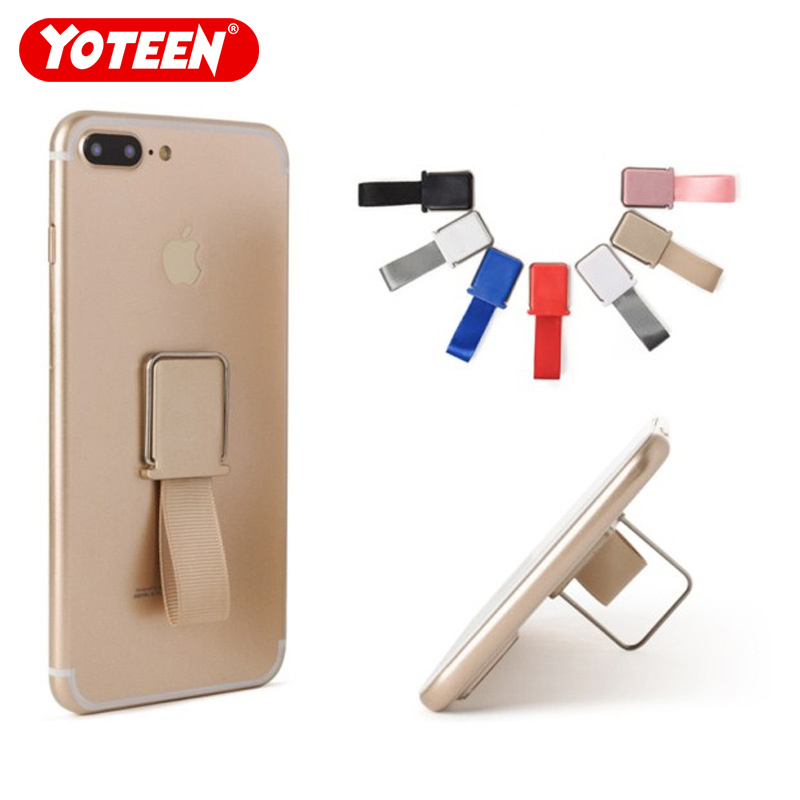 Yoteen Universal Mobile Phone Ring Holder Band Strap Finger Stand Grip For IPhone Samsung Huawei