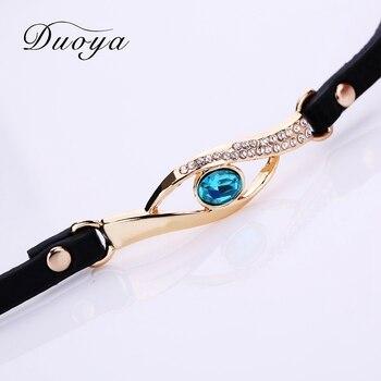 Duoya Gemstone Women Quartz Bracelet Wristwatches 2