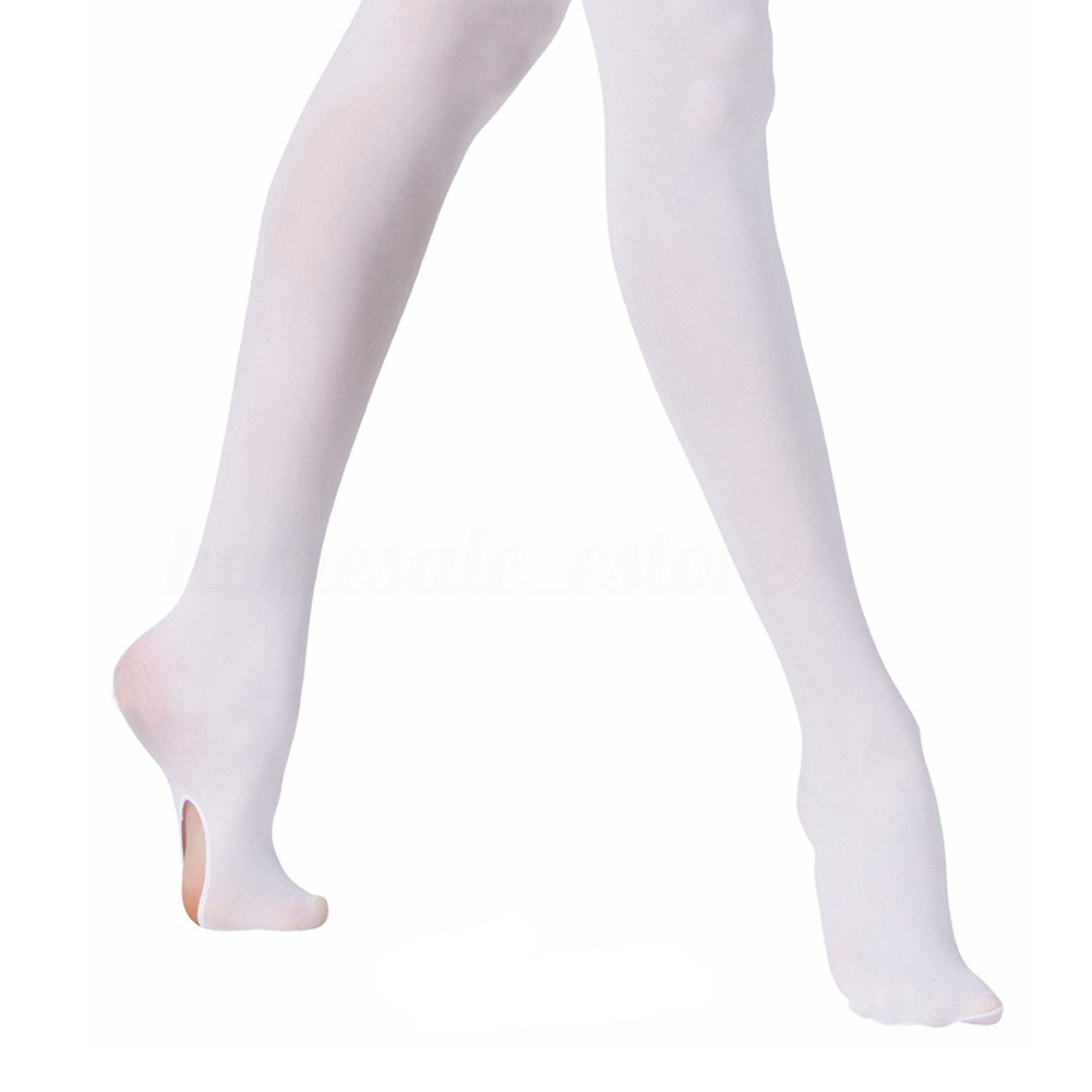 Convertible Tights Dance Stocking Socks Ballet,Pantyhose for Kids/&Adults Soft